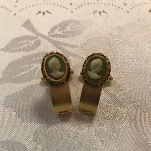 Other - Vintage Dante Cameo Cufflinks